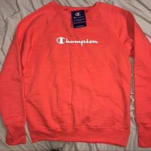 NWT Champion Sweater Pink Size Medium